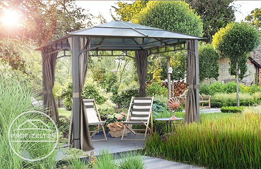 Stabile Hardtop-Gartenpavillons zur ganzjährigen Nutzung