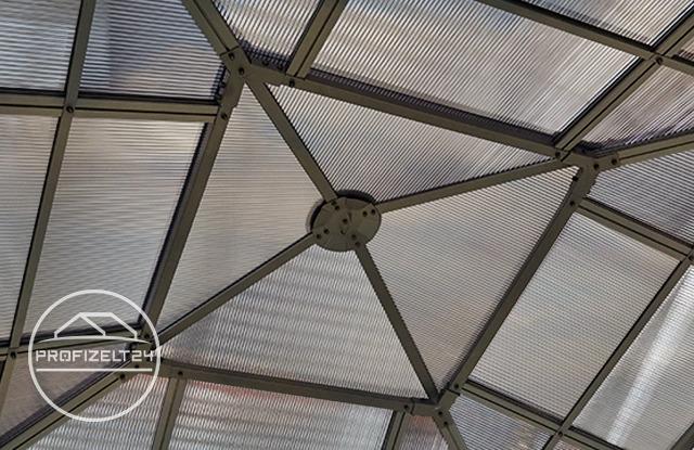 Wetterfeste Pavillons mit witterungsbeständigem Polycarbonat-Platten
