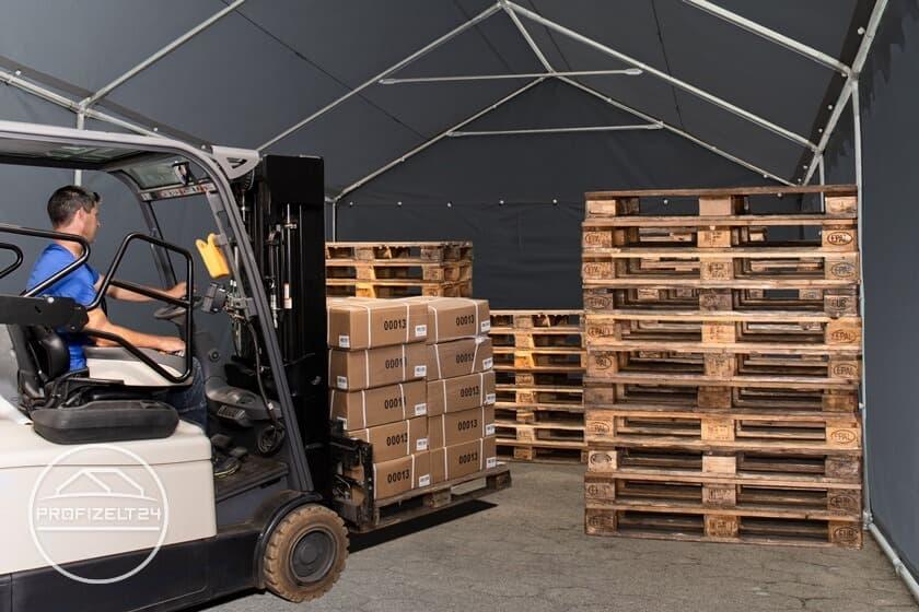Robuste Lagerzelte 3x6 m als ideale Lager- und Arbeitsräume