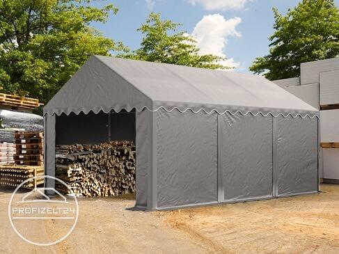 Mobile Lagerzelte als kostengünstige und wetterfeste Alternativen zu Massivhallen