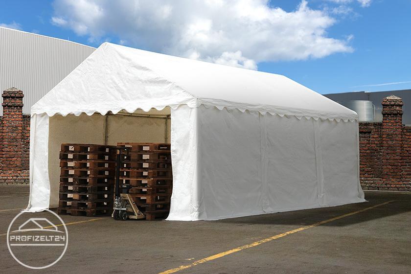 Wasserdichte Lagerzelte 4x6 m als praktische Lagerlösung für Paletten